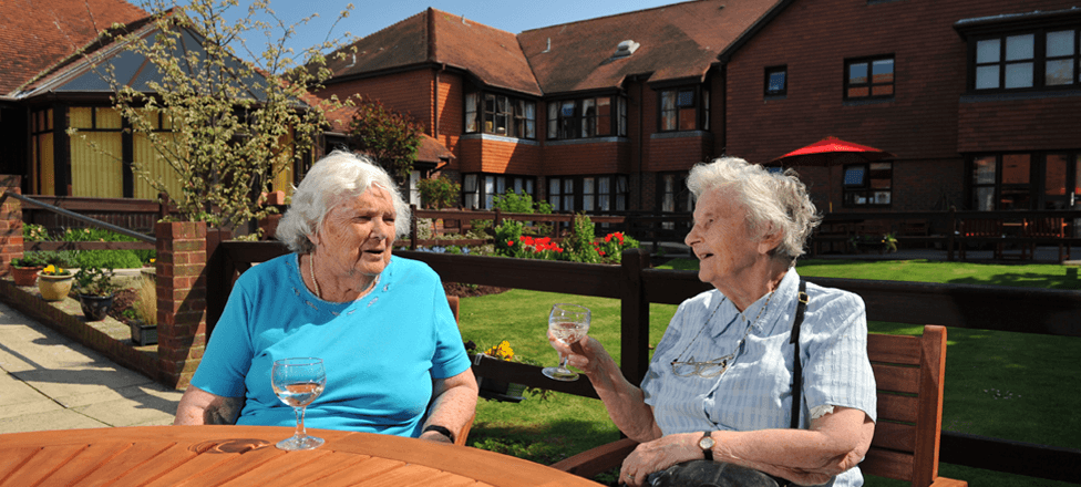Daily care in sheltered housing
